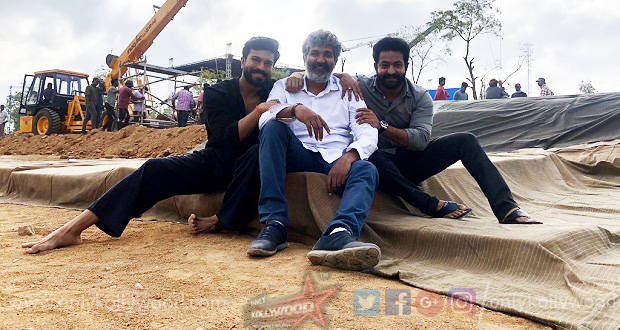 Photo of Next schedule of Rajamouli's RRR progresses in Vadodara!