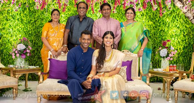 Photo of Vishal and Anisha got engaged in Hyderabad