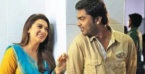 Photo of STR and Hansika reunite onscreen for Maha
