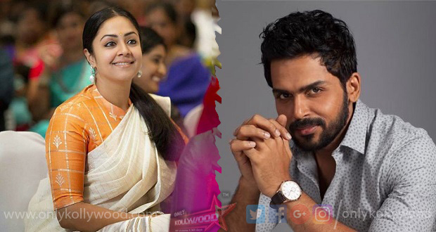 Karthi to play Jyothika s brother in Jeethu Joseph s next