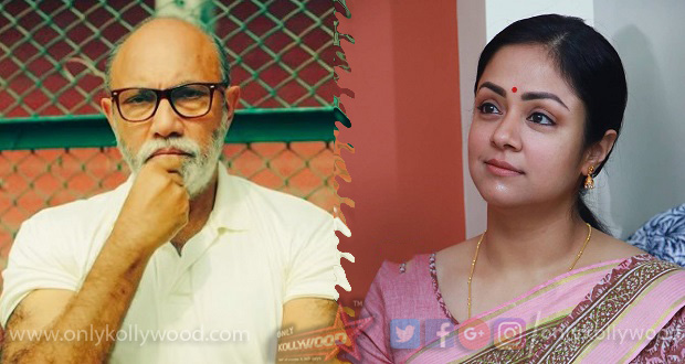 Photo of Sathyaraj joins Karthi – Jyothika's familial thriller?
