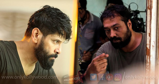 Photo of Anurag Kashyap to play the villain in Chiyaan Vikram's next?