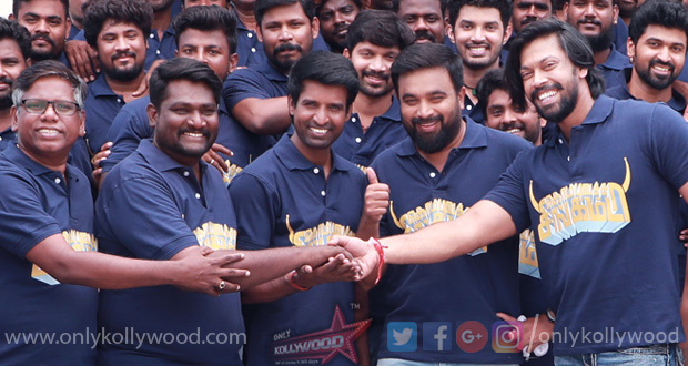 Photo of Sasikumar's Kombu Vatcha Singamda wrapped up