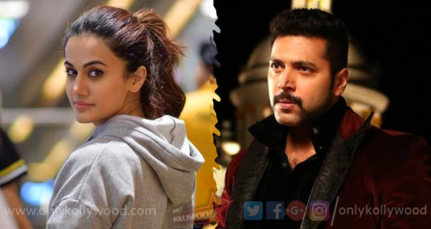 Photo of Taapsee to star in Jayam Ravi's next?