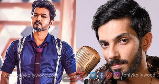 Anirudh on board Thalapathy 64