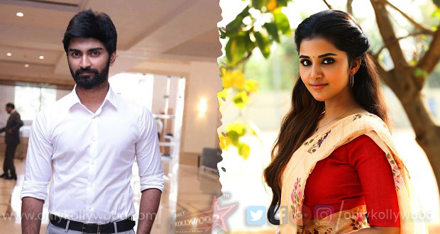 Photo of Anupama Parmeswaran on board Atharvaa – Kannan's next