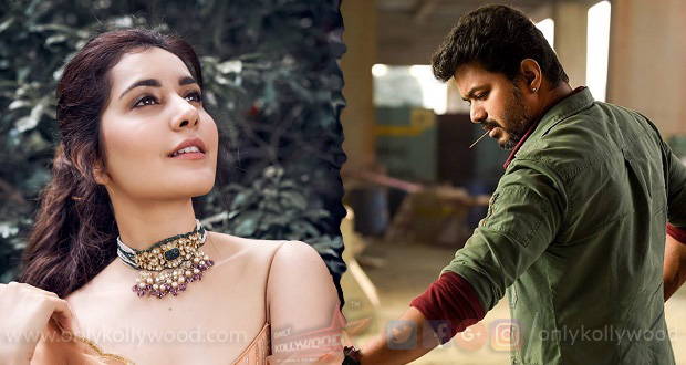 Photo of Raashi Khanna is not finalized for Thalapathy 64!