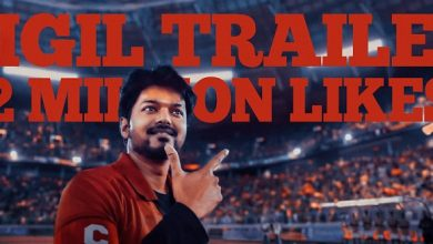 Photo of Bigil Trailer supplants Shah Rukh Khan's Zero to become India's most liked trailer in YouTube