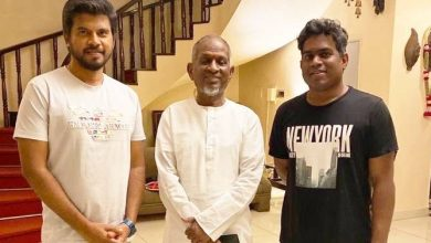 Photo of Isaignani Ilaiyaraaja records a special song for Sivakarthikeyan's Hero