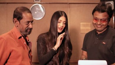 Photo of Shruti Haasan lends her vocals for Laabam