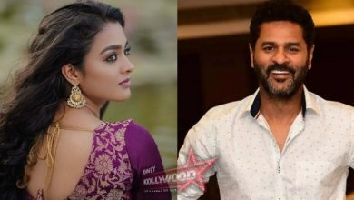 Photo of Gayathrie on board Prabhu Deva's Bagheera