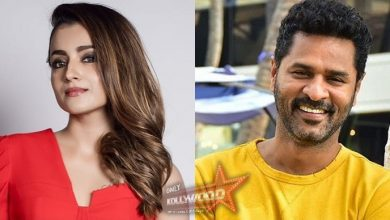 Photo of Trisha shakes a leg to Prabhudeva's Chikku Bukku Rayile