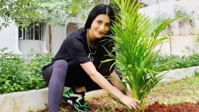 Photo of Green India challenge: Shruti Haasan nominates Hrithik Roshan, Rana Daggubati, Tamannaah
