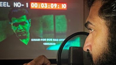Photo of Arun Vijay starts dubbing for crime thriller Sinam