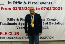 Photo of Thala Ajith bags six medals at the TN State Shooting Championship